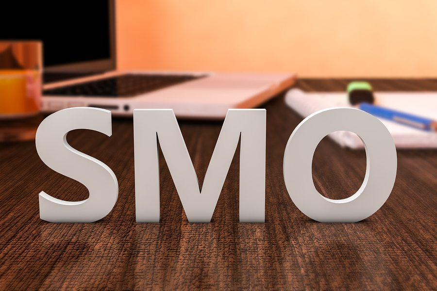 SMO 3D letters - Social Media for Business