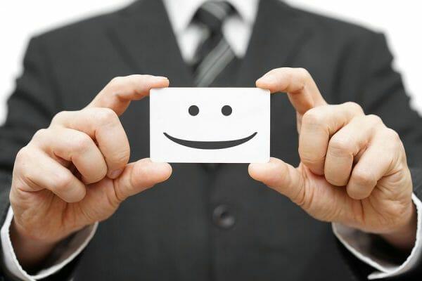 happy customer card