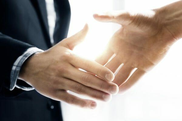 business deal sales trust