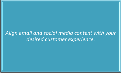 align social media - Strategic Customer Experience - Two Case Studies