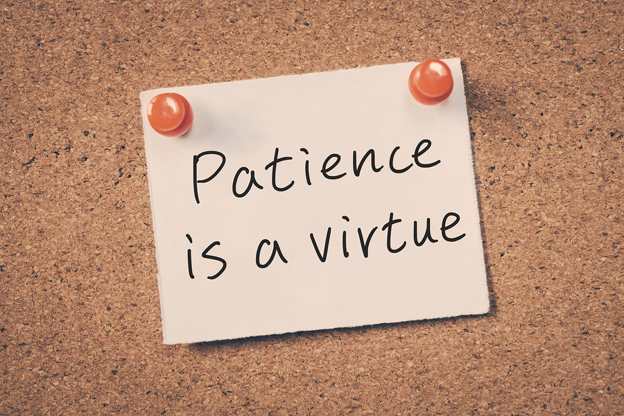 leadership patience marketing