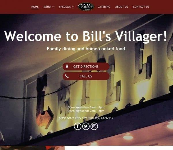 bills villager