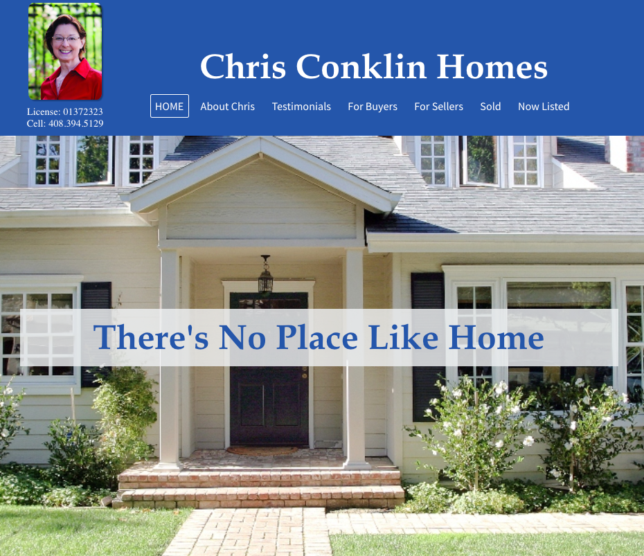 chris conklin homes homepage