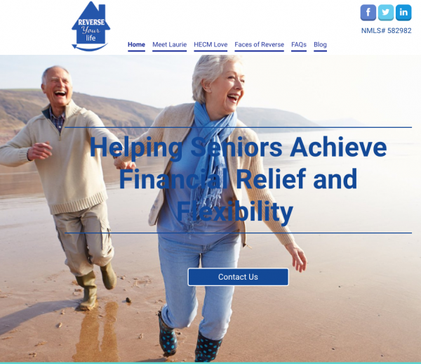Reverse Mortgage Website