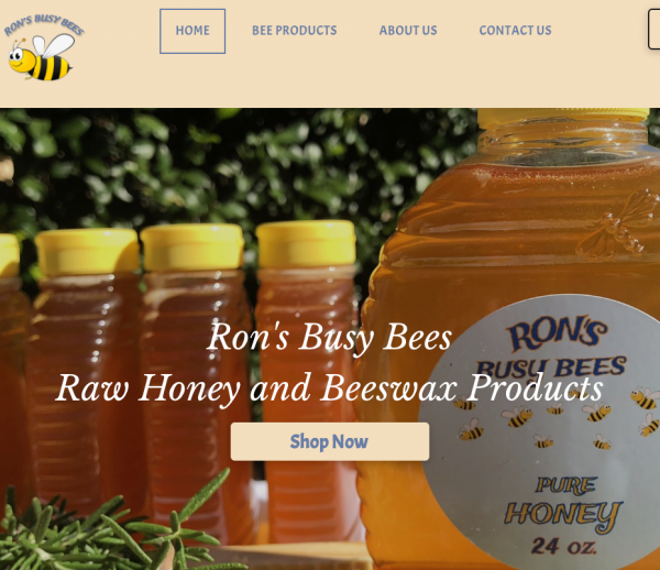rons busy bees website