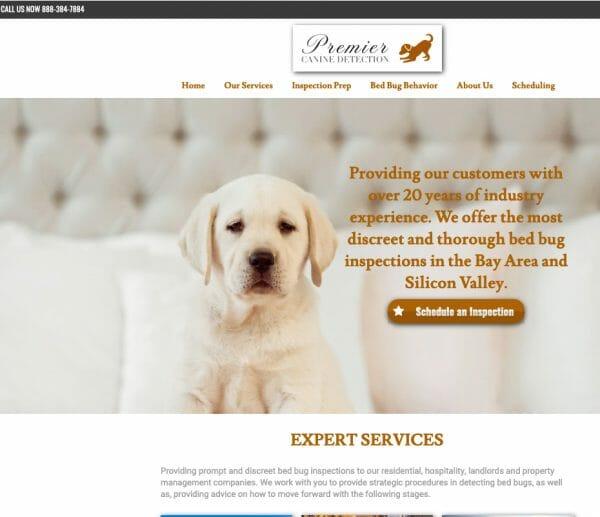 premier Canine detection website