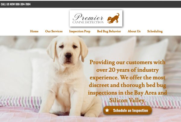 premier canine detection website